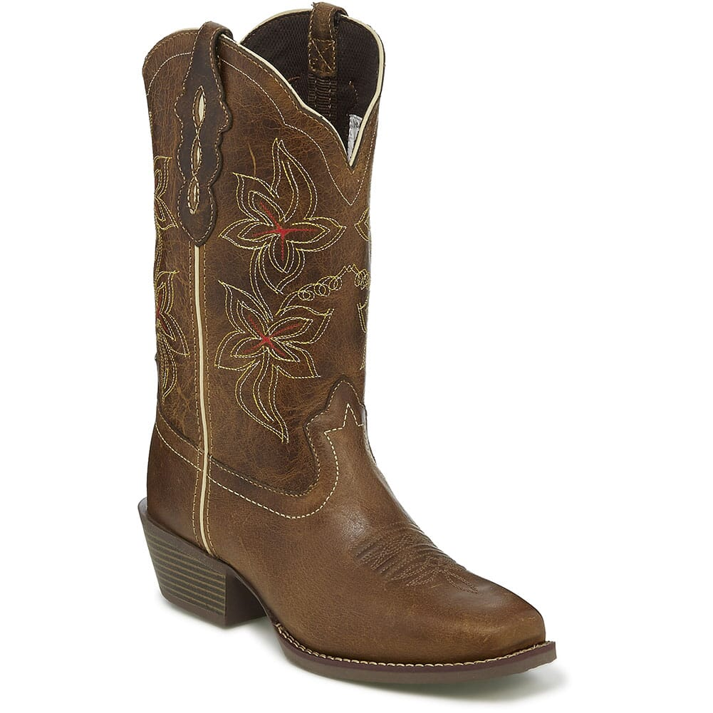 Image for Justin Women's Cadee Western Boots - Jungle Tan from elliottsboots