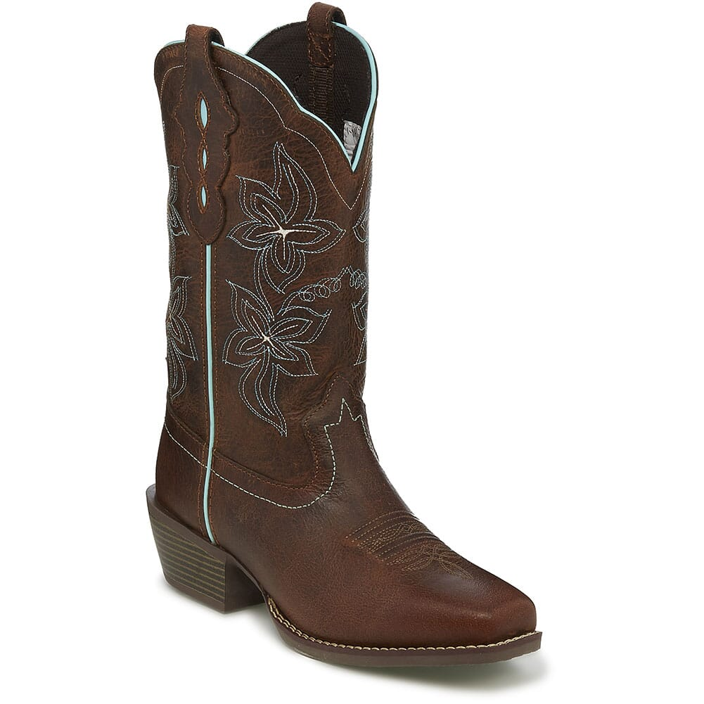 Image for Justin Women's Arin Western Boots - Sun Buffalo from elliottsboots