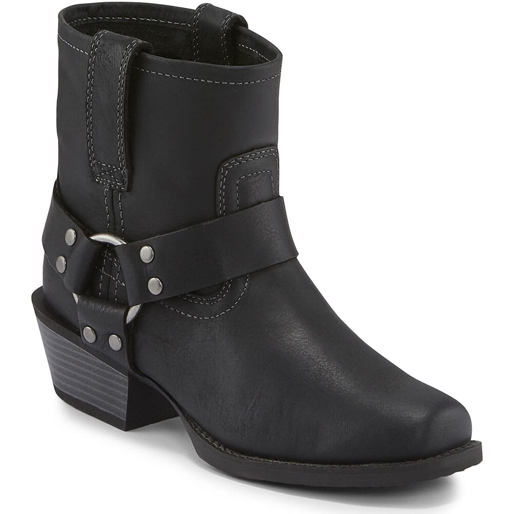 Image for Justin Women's Jungle Motorcycle Boots - Black from elliottsboots