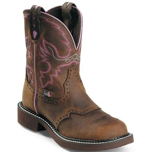 Image for Women's Gypsy Western Justin Boots - Aged Bark from bootbay