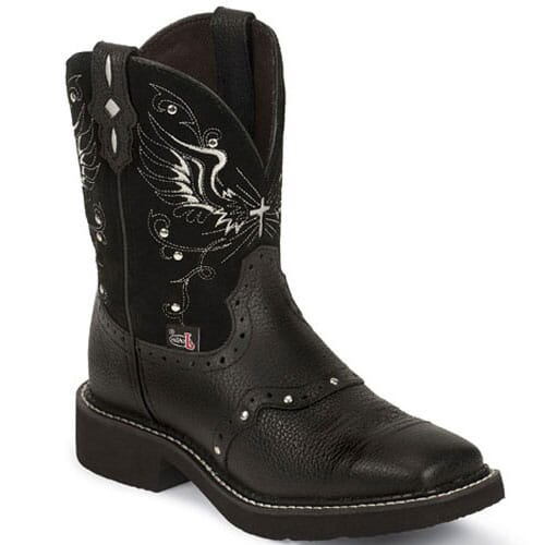 Image for Justin Women's Gypsy 8in Western Boots - Black from elliottsboots