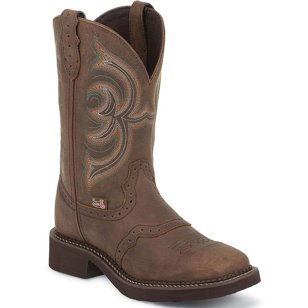Image for Justin Women's Gypsy Western Boots - Inji Bark from elliottsboots