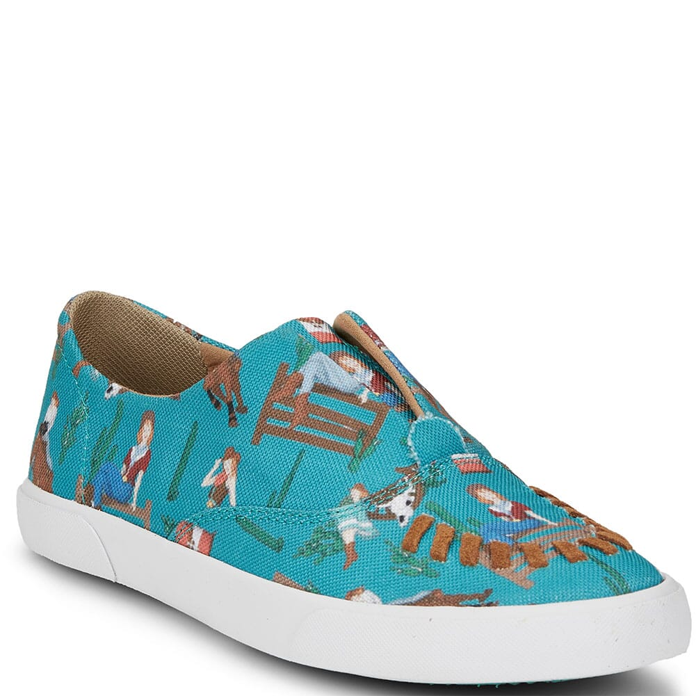 Image for Justin Women's Alice Casual Sneakers - Turquoise from bootbay