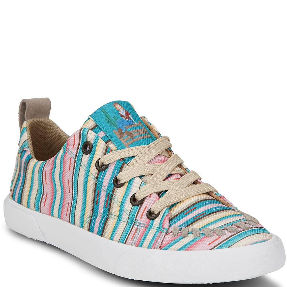 Image for Justin Women's Arreba Casual Sneakers - Pink Stripe from bootbay