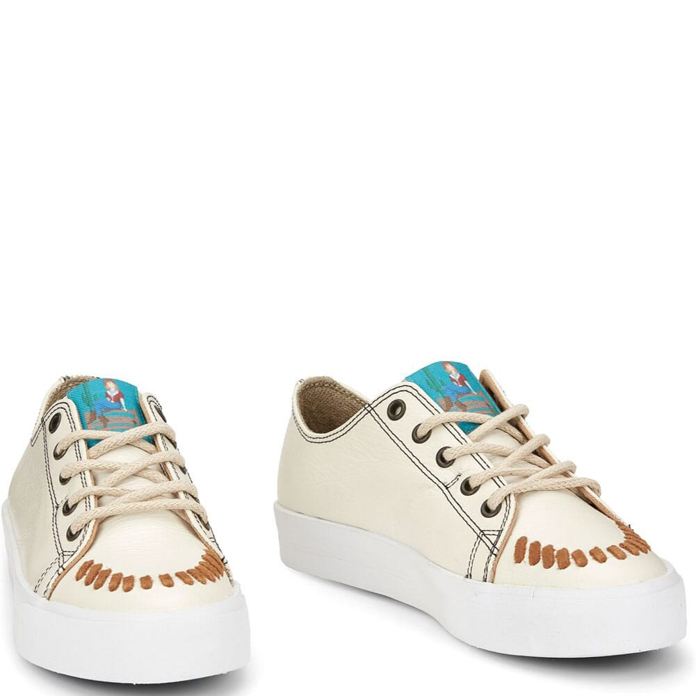 Image for Justin Women's Susie 2.0 Casual Sneakers - Pearl from bootbay