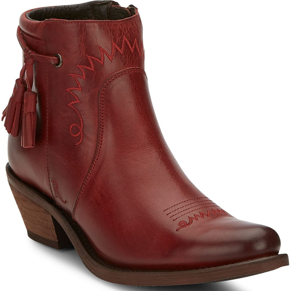 Image for Justin Women's Nel Casual Boots - Red from bootbay