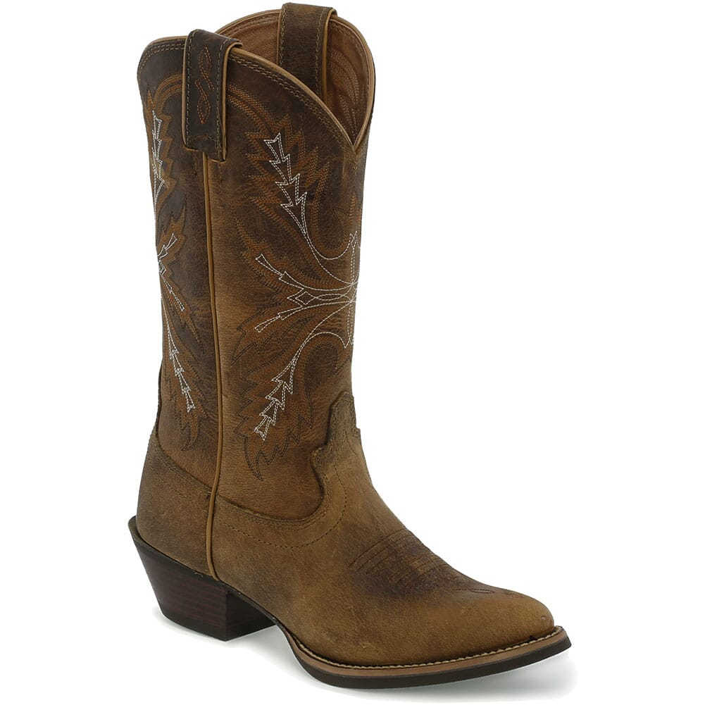 Image for Justin Women's Quinlan Western Boots - Tan from bootbay