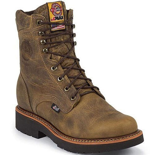 Image for Justin Original Men's Blueprint Work Boots - Tan from bootbay