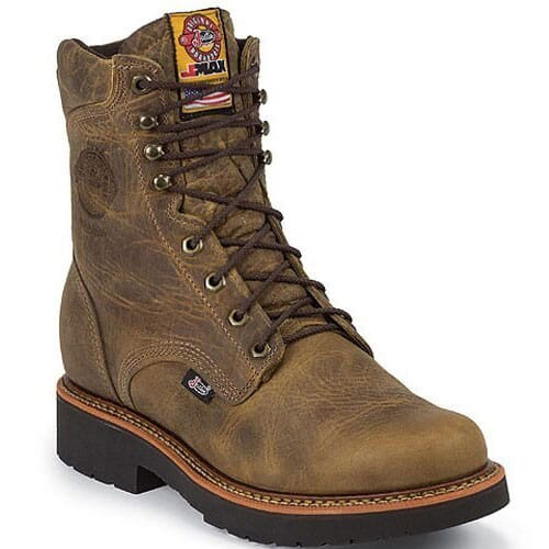 Image for Justin Original Men's Blueprint Safety Boots - Tan Gaucho from bootbay