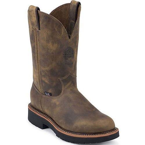 Image for Justin Original Men's Blueprint Wellington Work Boots - Tan from bootbay