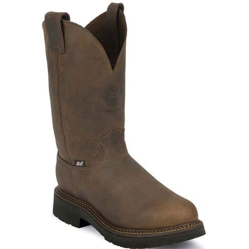Image for Justin Original Men's Balusters Work Boots - Gaucho from bootbay
