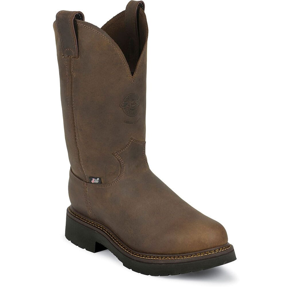 Image for Justin Original Men's Balusters Safety Boots - Gaucho from bootbay