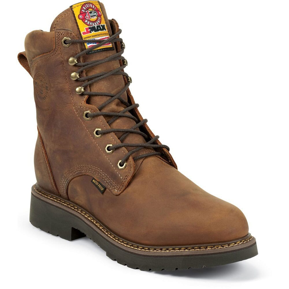 Image for Justin Original Men's Balusters WP Work Boots - Gaucho from bootbay