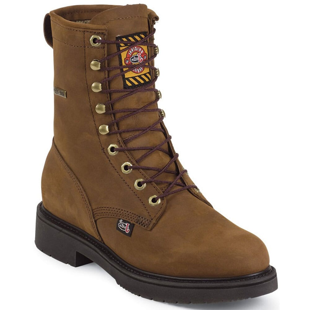 Image for Justin Original Men's Transcontinental Work Boots - Aged Bark from bootbay