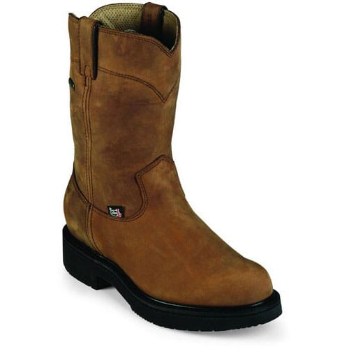 Image for Justin Original Men's Transcontinental GTX Work Boots - Aged Bark from bootbay