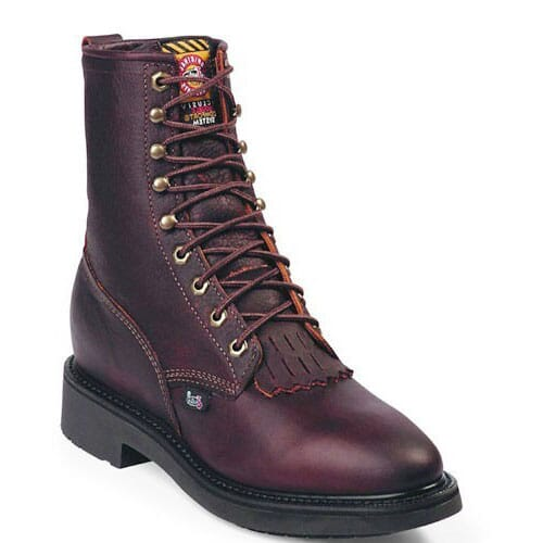 Image for Justin Original Men's Conductor Work Boots - Briar from bootbay