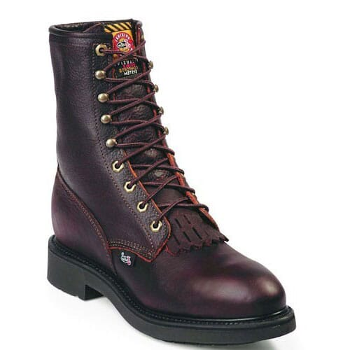 Image for Justin Original Men's Conductor Safety Boots - Briar from bootbay