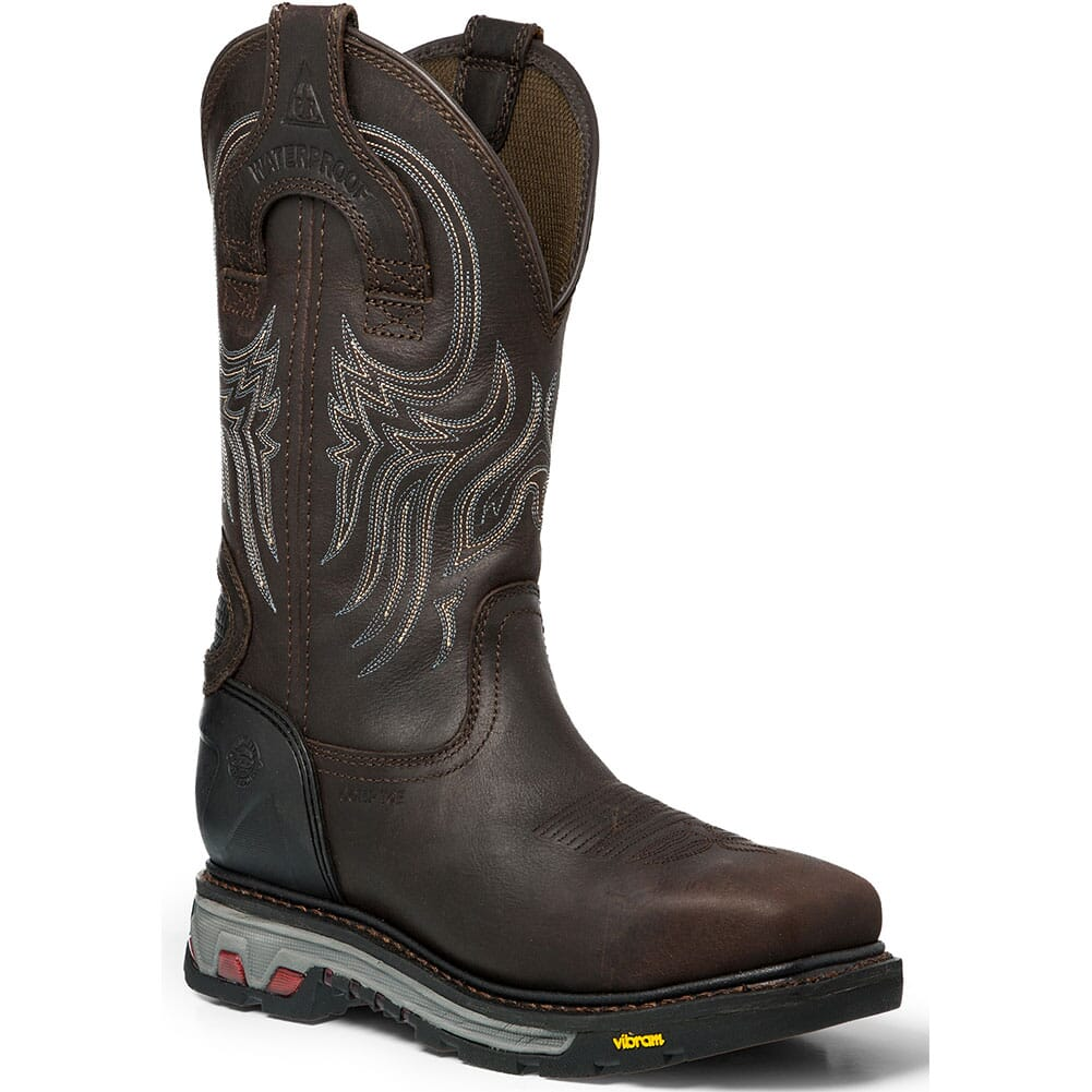 Image for Justin Original Men's Warhawk WP Safety Boots - Gibraltar from bootbay