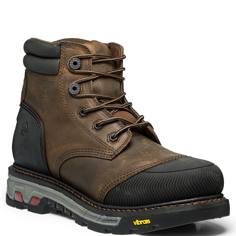 Image for Justin Original Men's Warhawk 6IN WP Safety Boots - Mechanic Tan from bootbay