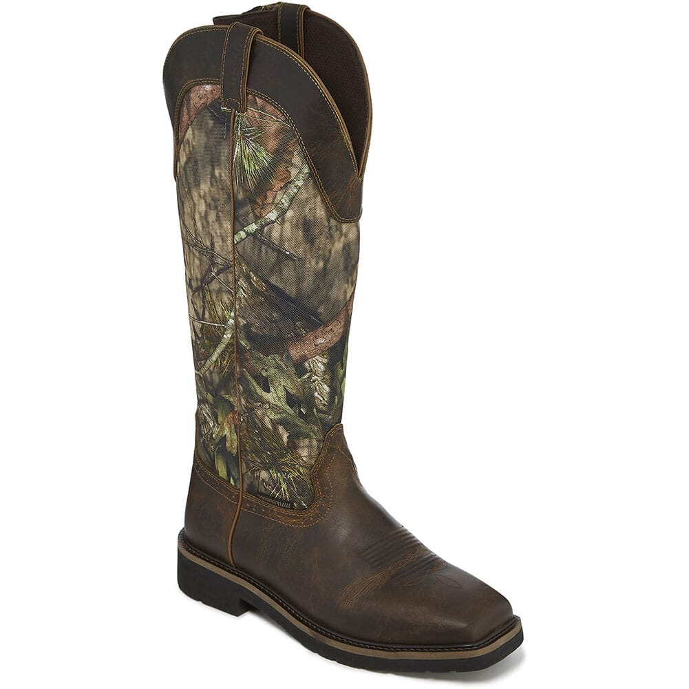 Image for Justin Original Men's Shrublands Hunting Boots - Mossy Oak from bootbay