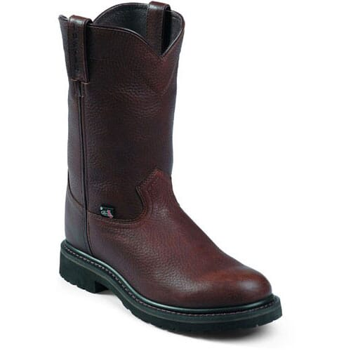 Image for Justin Original Men's 10 IN BRN Work Boots - Brown from bootbay