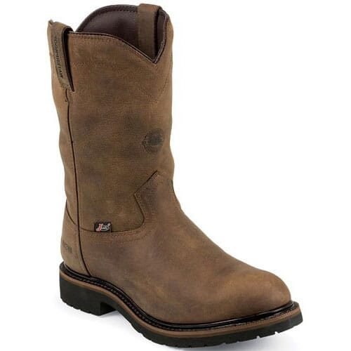 Image for Justin Original Men's Drywall Work Boots - Wyoming Brown from bootbay
