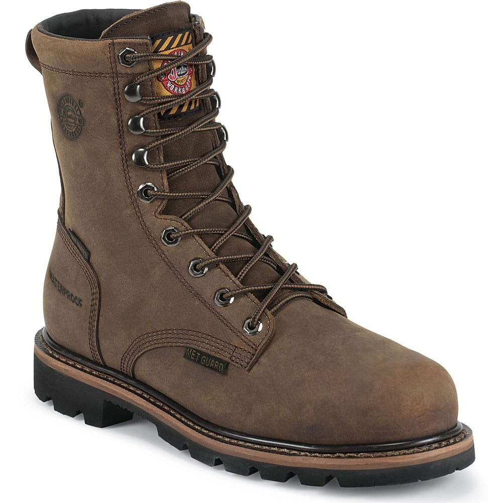 Image for Justin Original Men's Pulley WP Safety Boots - Wyoming from bootbay