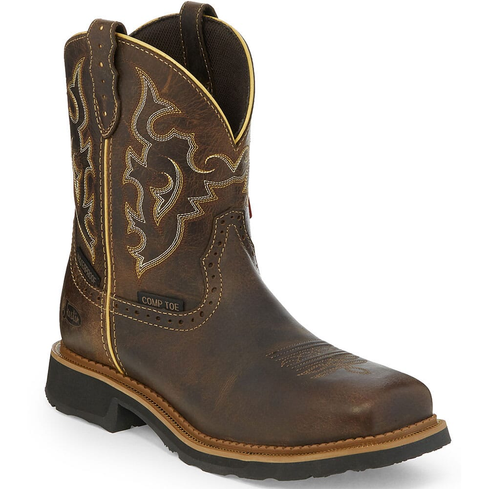 Image for Justin Original Women's Jalena WP Safety Boots - Maple Tan from elliottsboots