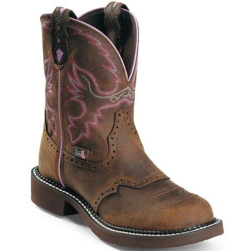 Image for Justin Original Women's Gypsy Safety Boots - Aged Bark from bootbay
