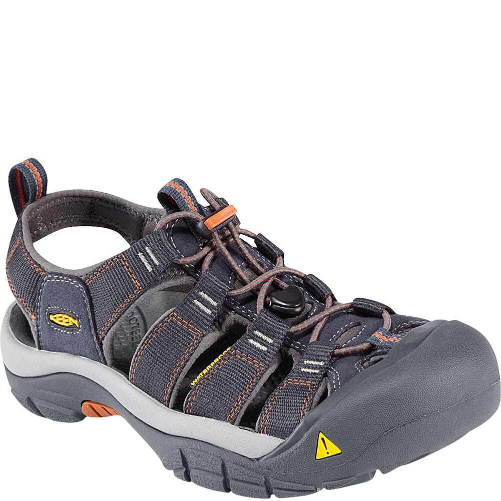Image for Keen Men's Newport H2 Sandals - India Ink/Rust from bootbay