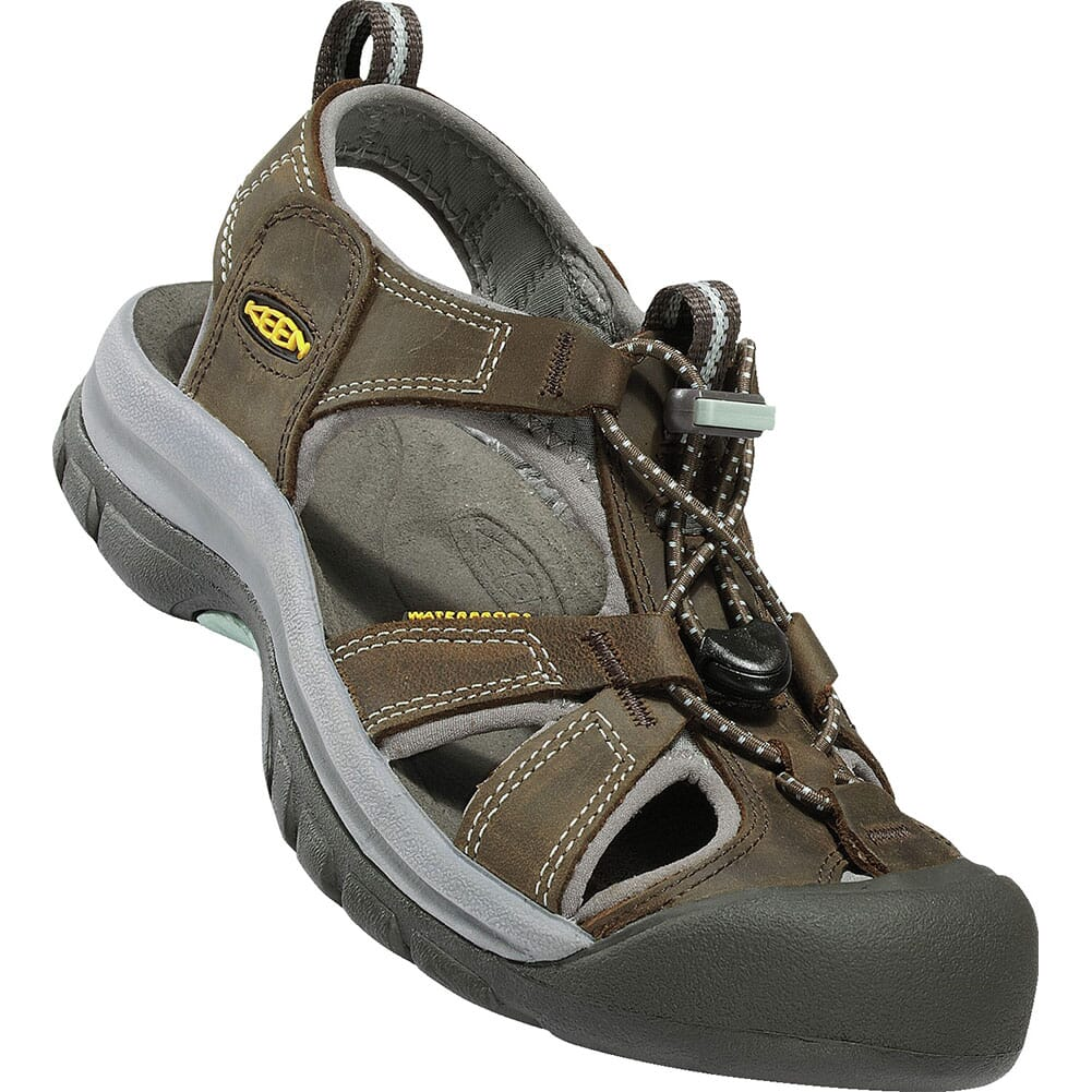 Image for KEEN Women's Venice Sandals - Black Olive/Surf Spray from elliottsboots