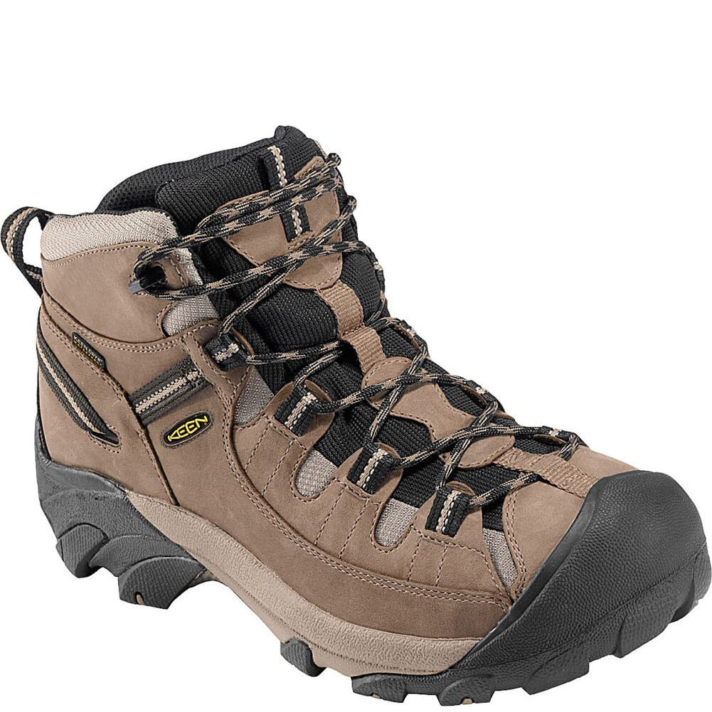 Image for KEEN Men's Targhee II Mid Hiking Boots - Shitake/Brindle from bootbay
