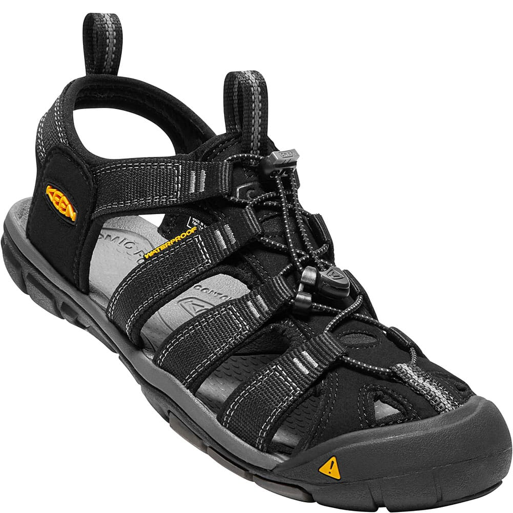 Image for KEEN Men's Clearwater CNX Sandals - Black/Gargoyle from bootbay