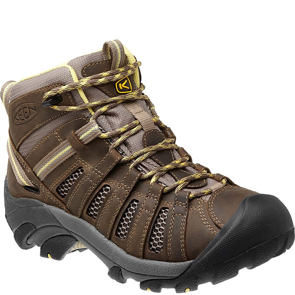 Image for KEEN Women's Voyageur Mid Hiking Boots - Brindle /Custard from elliottsboots