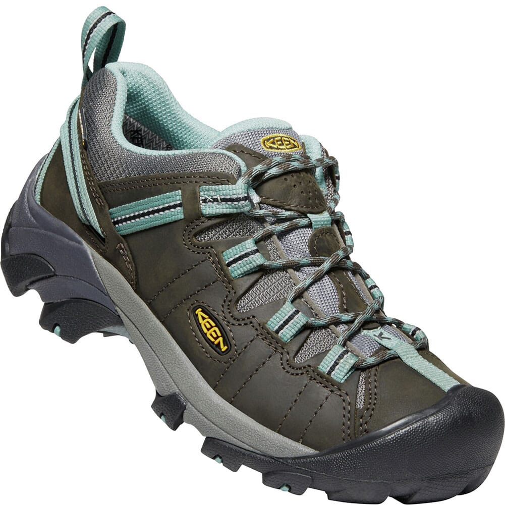 Image for KEEN Women's Targhee II Hiking Shoes - Black Olive from bootbay