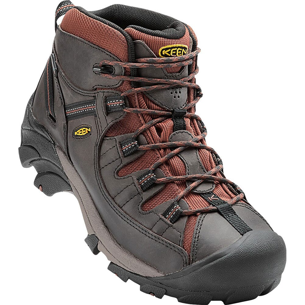 Image for KEEN Men's Targhee II Mid Hiking Boots - Raven/Tortoise Shell from bootbay