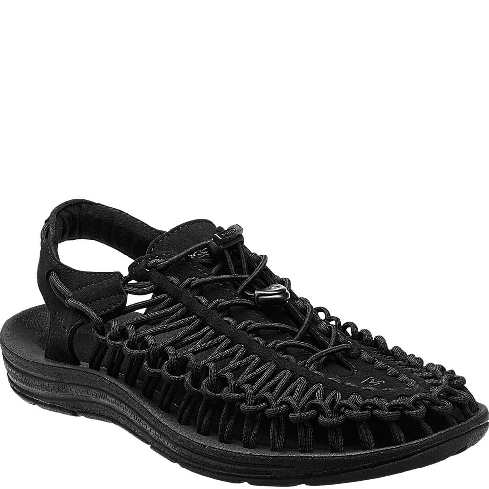 Image for KEEN Men's UNEEK Monochrome Sandals - Black from bootbay