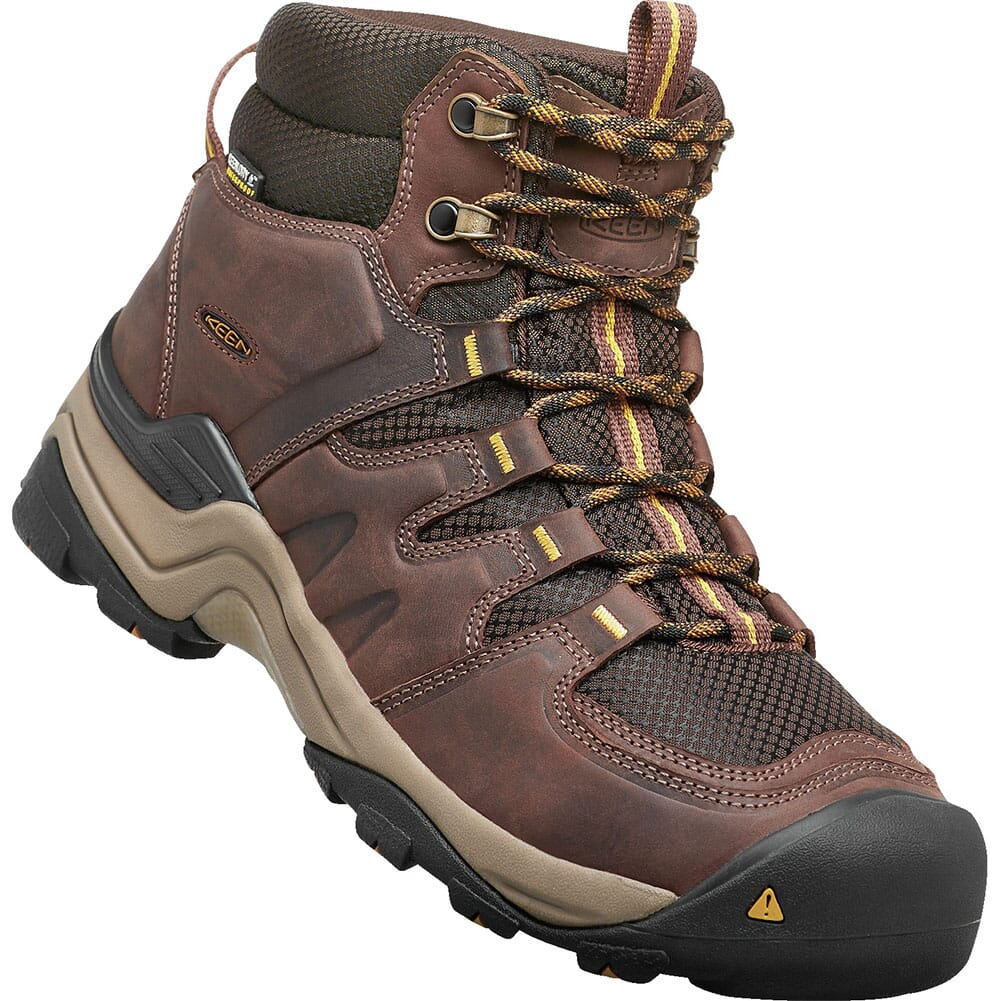 Image for KEEN Men's Gypsum II WP Hiking Boots - Coffee Bean from bootbay
