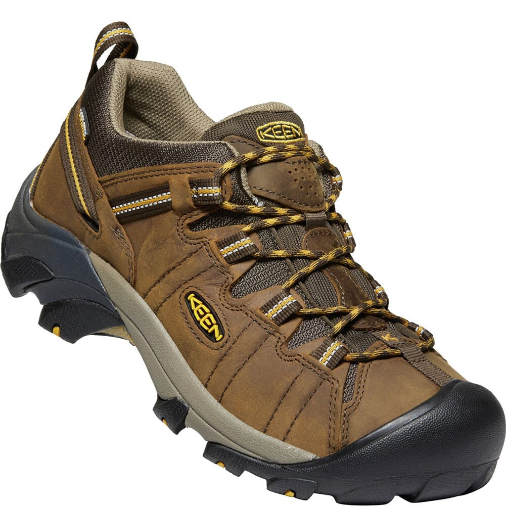 Image for KEEN Men's Targhee II Wide Hiking Shoes - Cascade Brown/Yellow from bootbay