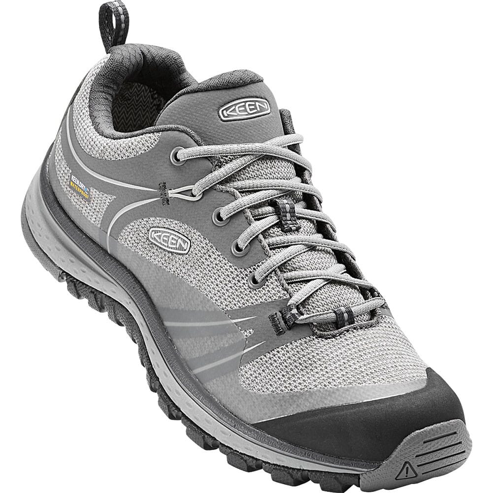 Image for KEEN Women's Terradora WP Hiking Shoes - Neutral Grey/Gargoyle from elliottsboots