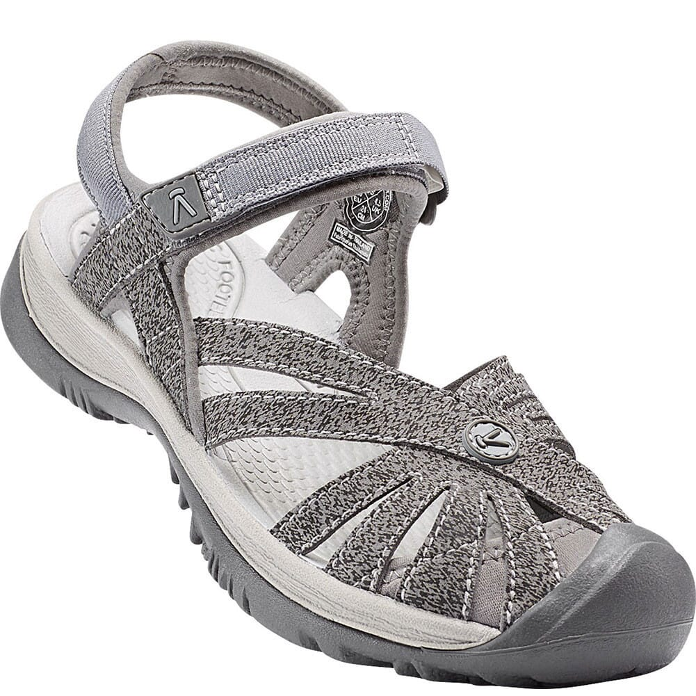 Image for KEEN Women's Rose Sandals - Gargoyle/Raven from bootbay