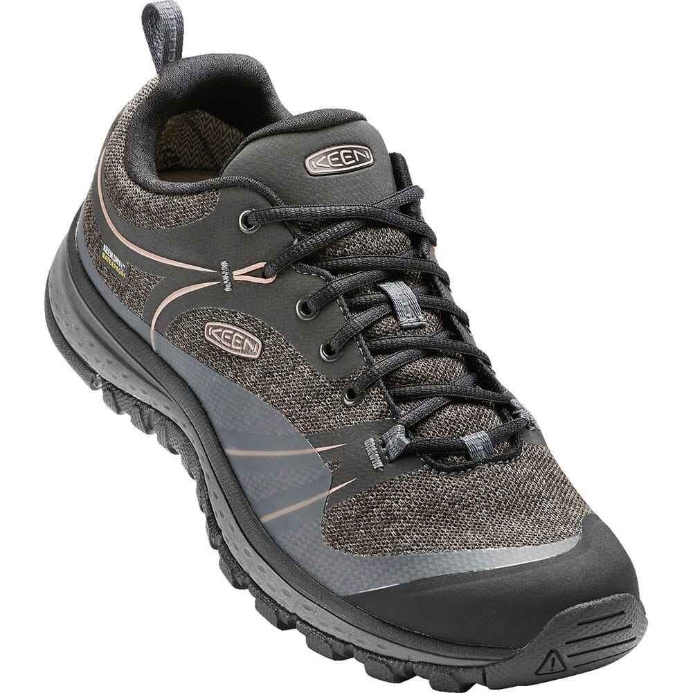 Image for KEEN Women's Terradora WP Hiking Boots - Raven/Rose Dawn from elliottsboots