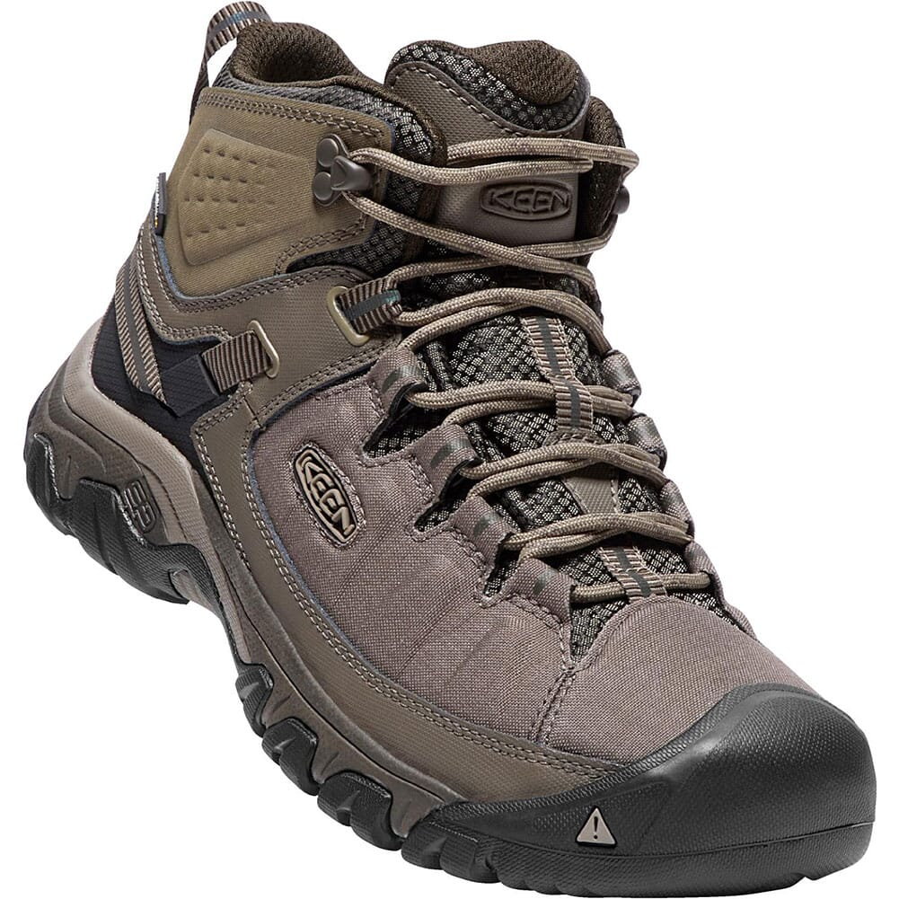 Image for KEEN Men's Targhee EXP WP Mid Hiking Boots - Bungee Cord/Brindle from bootbay