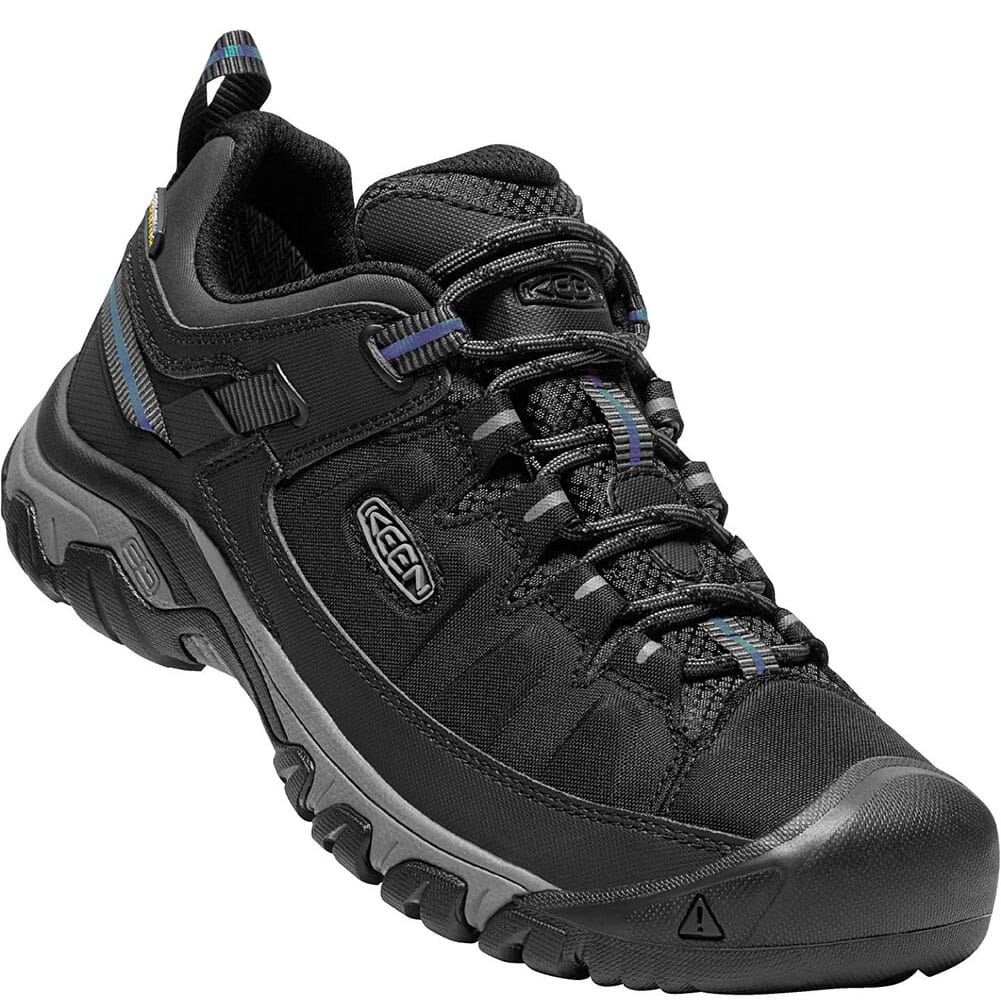 Image for KEEN Men's Targhee EXP WP Hiking Shoes - Black/Steel Grey from bootbay