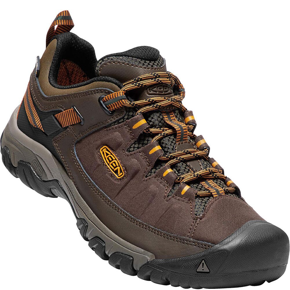 Image for KEEN Men's Targhee EXP WP Hiking Shoes - Cascade/Inca Gold from bootbay