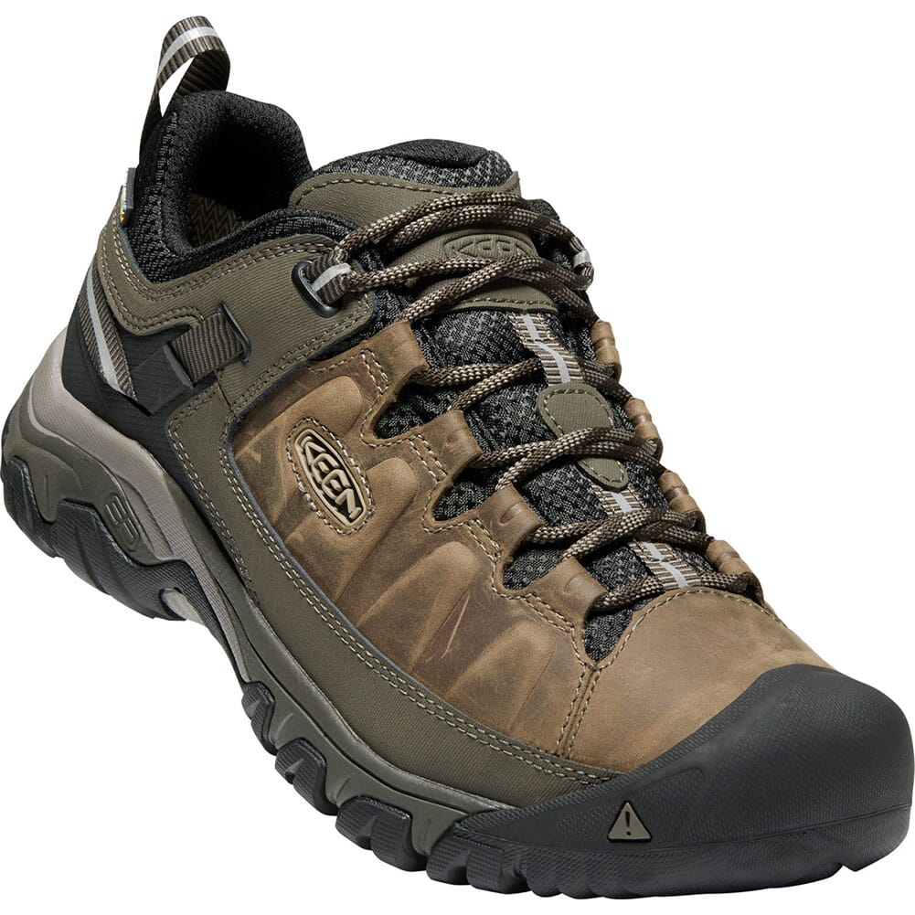 Image for Keen Men's Targhee III WP Hiking Shoes - Bungee Cord/Black from bootbay