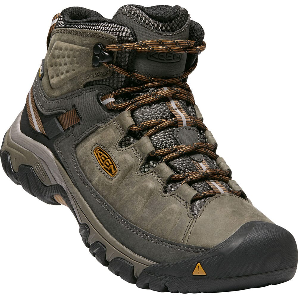 Image for Keen Men's Targhee III Mid Hiking Boots - Black Olive/Brown from bootbay