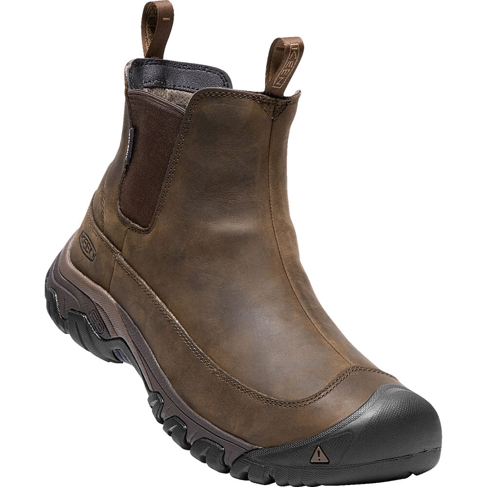 Image for KEEN Men's Anchorage III WP Boots - Dark Earth/Mulch from bootbay