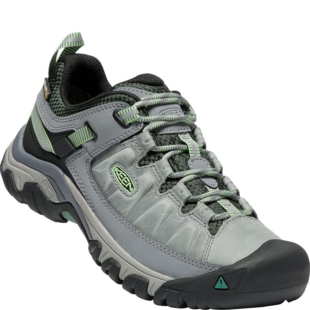 Image for Keen Women's Targhee III WP Hiking Shoes - Bleacher/Duck Green from bootbay