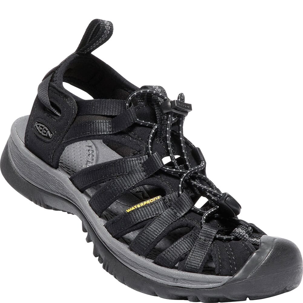 Image for KEEN Women's Whisper Sandals - Black/Magnet from bootbay